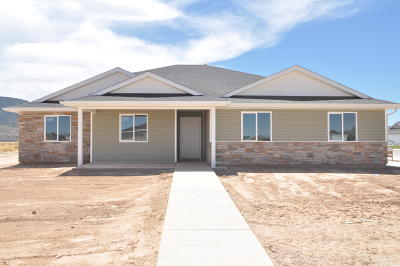 Cedar City Single Family Home For Sale: 844 E Stagecoach Ln