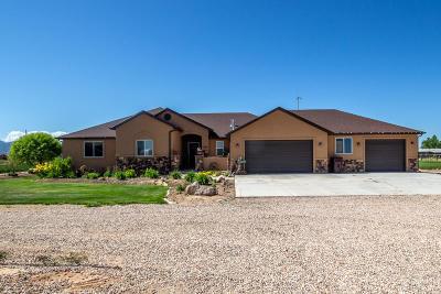 Cedar City Single Family Home For Sale: 2449 W 6000 N