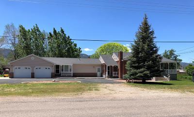 Parowan Single Family Home For Sale: 349 W 400 N
