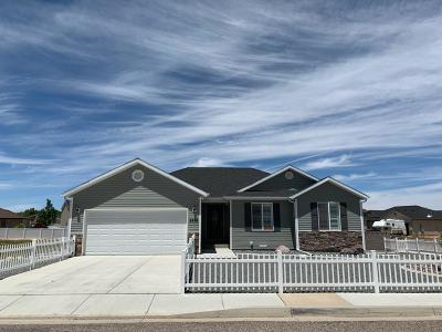 Cedar City Single Family Home For Sale: 2823 N Clark Parkway