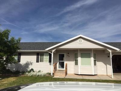 Cedar City Single Family Home For Sale: 1658 N 175 W