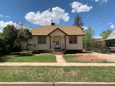 Cedar City Single Family Home For Sale: 316 S 100 E