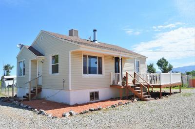 Cedar City Single Family Home For Sale: 5752 W 600 S