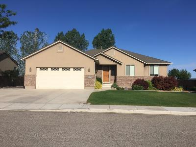 Cedar City Single Family Home For Sale: 2797 N 175 W