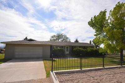 Enoch Single Family Home For Sale: 4647 N Mule Train Dr