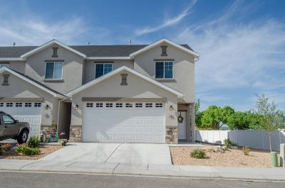 Cedar City Condo/Townhouse For Sale: 173 E Fiddlers Canyon