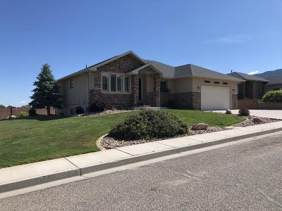 Cedar City Single Family Home For Sale: 741 E Nichols Canyon Rd
