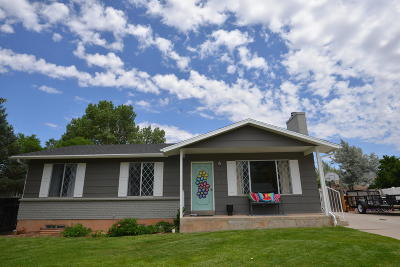 Cedar City Single Family Home For Sale: 81 Robbers Roost Ln