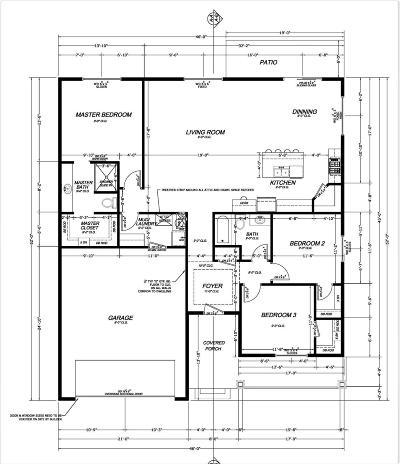 Cedar City Single Family Home For Sale: Lot. 7 Block 10 Sunrise Avenue