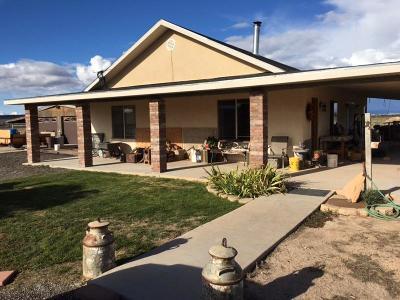 Parowan Single Family Home For Sale: 2332 W 2200 N