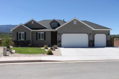Cedar City UT Single Family Home For Sale: $415,000
