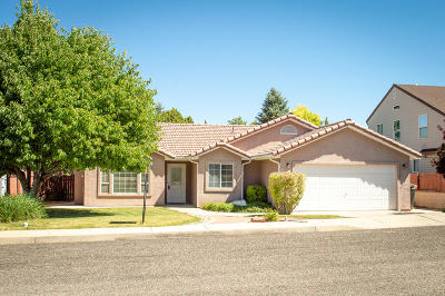 Cedar City UT Single Family Home For Sale: $229,000