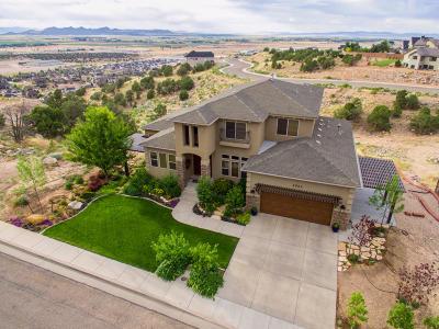 Cedar City UT Single Family Home For Sale: $575,000