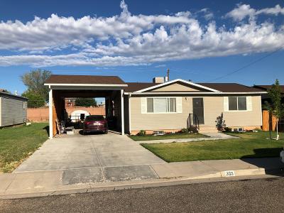 Cedar City UT Single Family Home For Sale: $199,900