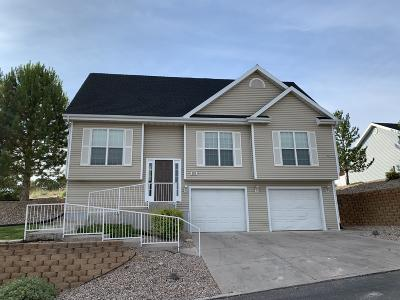 Cedar City UT Single Family Home For Sale: $249,500