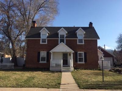 Parowan Single Family Home For Sale: 37 W 100 N