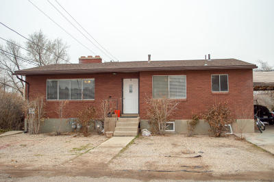 Cedar City UT Multi Family Home For Sale: $209,000