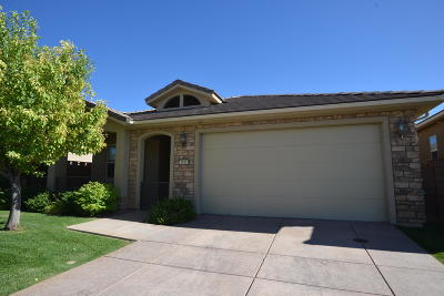 Cedar City UT Single Family Home For Sale: $299,900