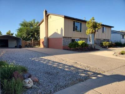 Cedar City UT Single Family Home Accepting Backup Offers: $225,000