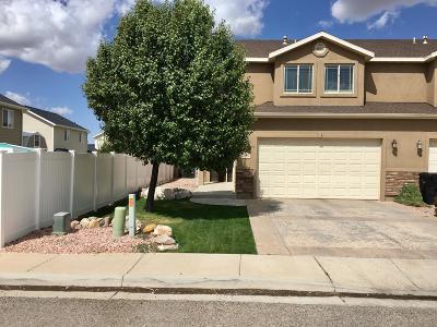 Cedar City UT Single Family Home For Sale: $214,900