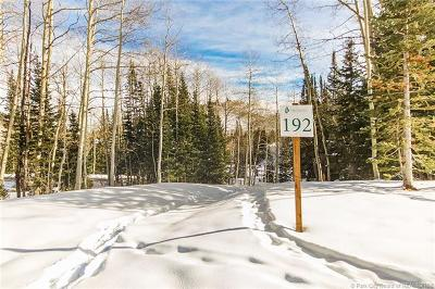 Residential Lots & Land For Sale: 192 White Pine Canyon Road