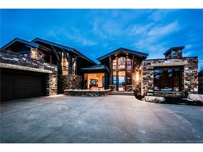 Park City Single Family Home For Sale: 358 Centennial Circle