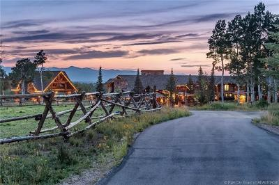 Single Family Home For Sale: 1943 N Wolf Creek Ranch Road