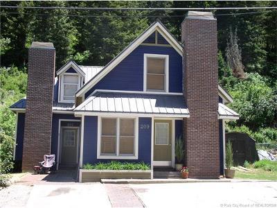 Park City UT Single Family Home For Sale: $1,375,000