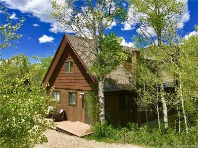 Oakley, Peoa Single Family Home For Sale: 611 E Conifer Drive