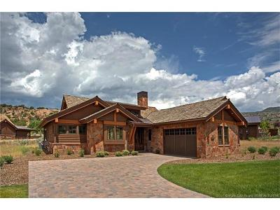 Tuhaye, Red Ledges Single Family Home For Sale: 165 N Club Cabins Court #4
