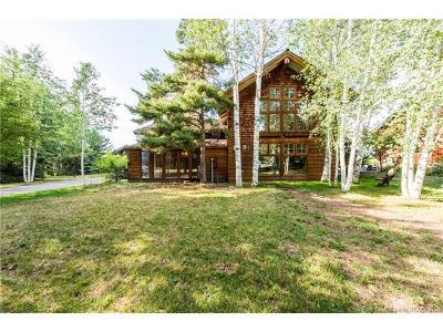 Park City UT Single Family Home For Sale: $1,595,000