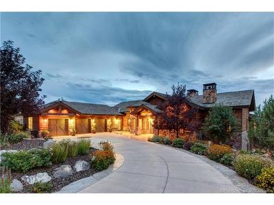 Tuhaye, Red Ledges Single Family Home For Sale: 2180 E Flat Top Mountain Dr (Lot 77)