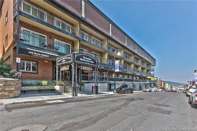Park City Condo/Townhouse For Sale: 250 Park Avenue #B36