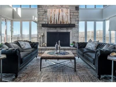 Park City Single Family Home For Sale: 8293 N Ranch Garden Road