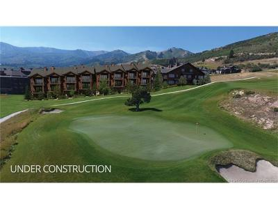 Park City Condo/Townhouse For Sale: 4285 Willow Draw Road #704