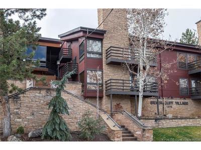 Park City Condo/Townhouse For Sale: 1375 Woodside Avenue #102