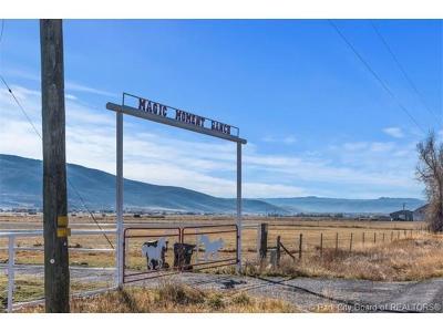 Oakley, Peoa Residential Lots & Land For Sale: 3950 N Millrace