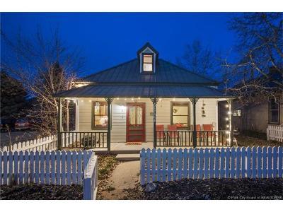 Park City Single Family Home For Sale: 1162 Woodside Avenue