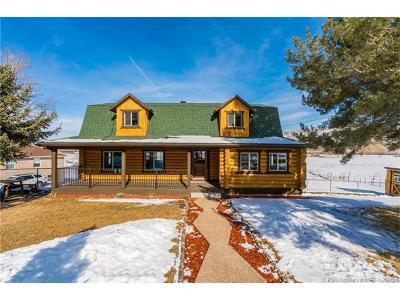 Henefer UT Single Family Home For Sale: $460,000
