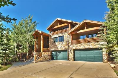 Park City Single Family Home For Sale: 2835 Solamere Drive