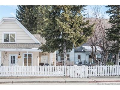 Park City Single Family Home For Sale: 1274 Park Avenue