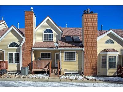 Park City UT Condo/Townhouse For Sale: $425,000