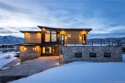 Park City Single Family Home For Sale: 6321 Dakota Trail