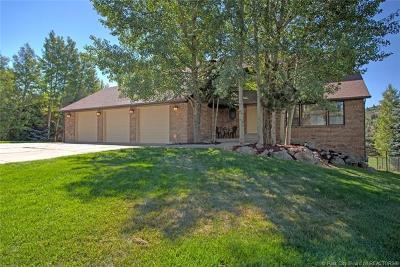 Single Family Home For Sale: 3635 Saddleback Road