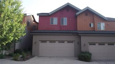 Park City Condo/Townhouse For Sale: 8143 Courtyard Loop #8