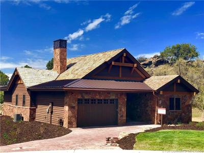 Heber City Single Family Home For Sale: 147 N Club Cabins Crt (Lot Cc-8)