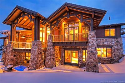Park City Single Family Home For Sale: 2 Hawkeye Place