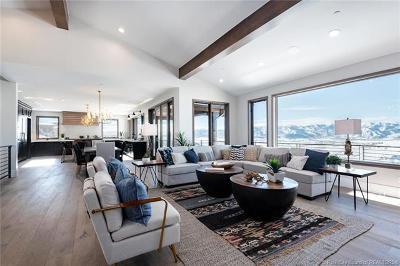 Park City Single Family Home For Sale: 9051 N Hidden Hill Loop