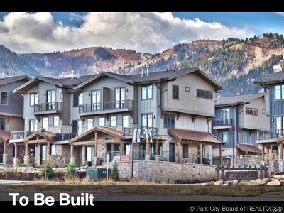 Park City Condo/Townhouse For Sale: 3751 Blackstone Drive #3A