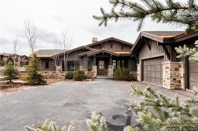 Park City Single Family Home For Sale: 2470 Saddlehorn Drive